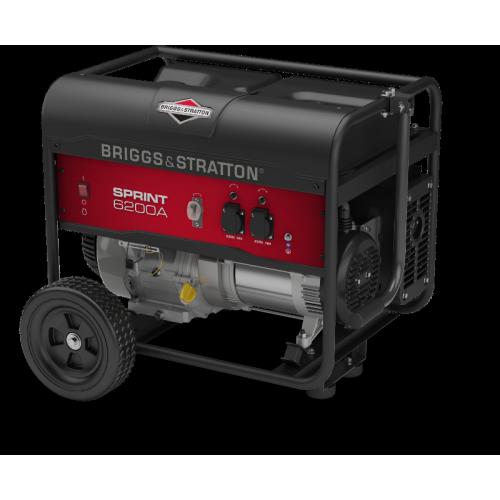 Бензиновый генератор Briggs&Stratton Sprint 6200A (030673) - купить в SADOVKA