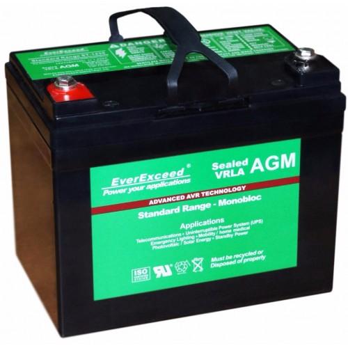 Аккумулятор для ИБП EverExceed AGM 12V 37Ah (ST-1235) - купить в SADOVKA