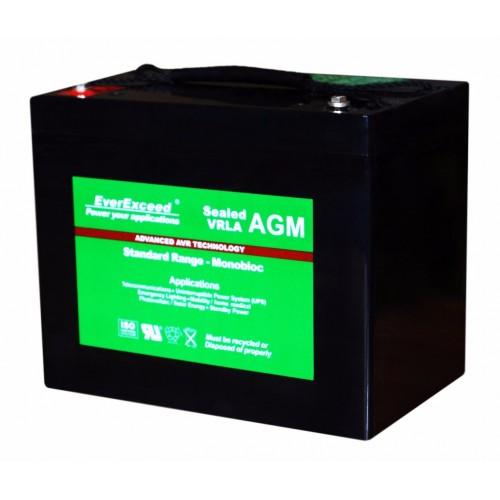 Аккумулятор для ИБП EverExceed AGM 12V 78Ah ST-1270 (ST-1270) - купить в SADOVKA