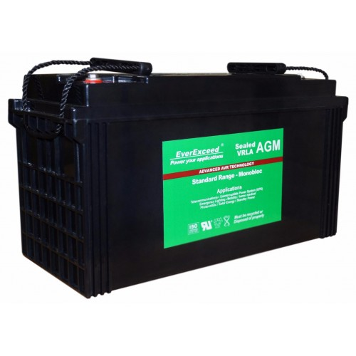Аккумулятор для ИБП EverExceed AGM 12V 135Ah ST-12120 (ST-12120) - купить в SADOVKA