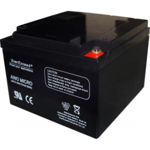 Аккумуляторная батарея EverExceed AM 12-26 - купить в SADOVKA