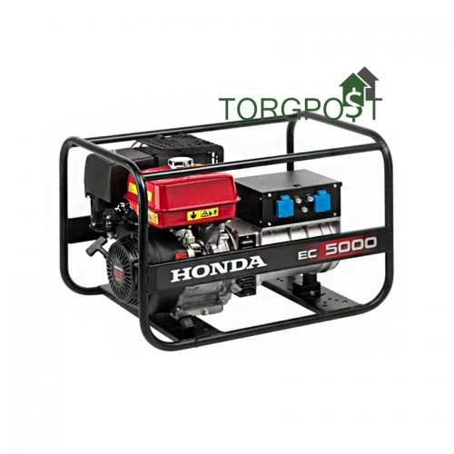 Бензиновый генератор Honda EC 5000 K1 GV - купить в SADOVKA