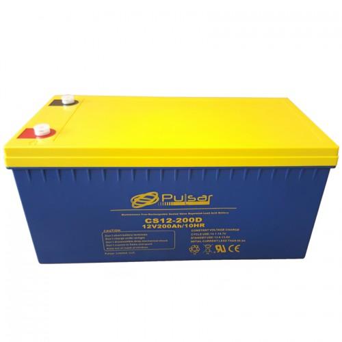 Аккумулятор PULSAR CS12-200D - купить в SADOVKA