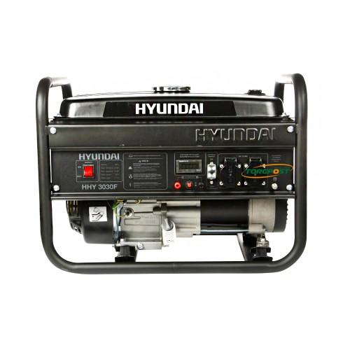 Бензиновый генератор Hyundai HHY 3030F - купить в SADOVKA