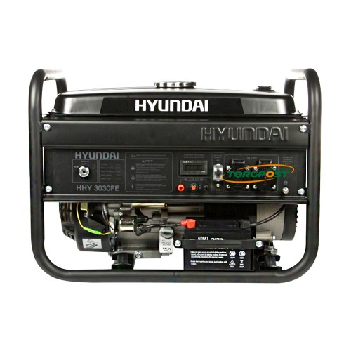 Бензиновый генератор Hyundai HHY 3030FE - купить в SADOVKA