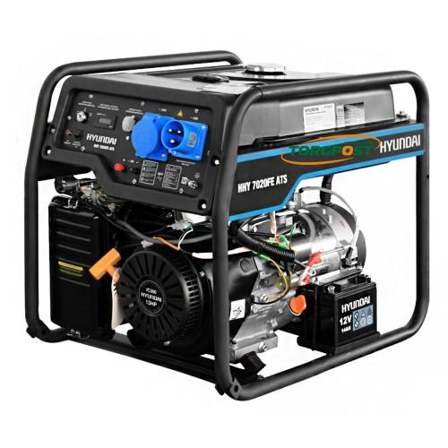 Бензиновый генератор Hyundai HHY 7020FE ATS - купить в SADOVKA